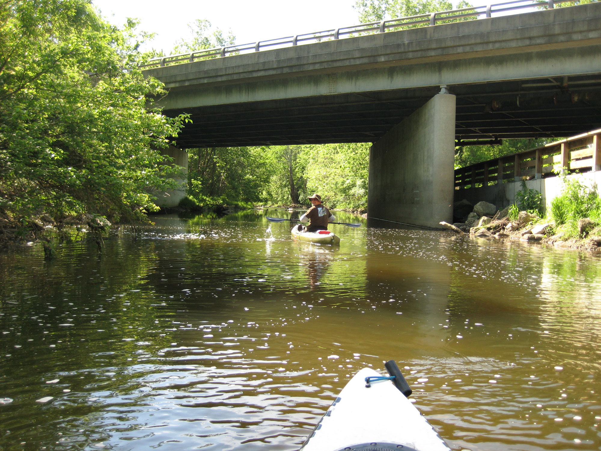 Blacklick creek trip report hikeq for Central ohio fishing report